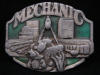 HL21148 VINTAGE 1987 **MECHANICS KEEP THE WORLD MOVING** BUCKLE