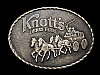 KE23171 NICE VINTAGE 1970s ***KNOTT'S BERRY FARM*** BELT BUCKLE