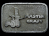 JL11149 VINTAGE 1970s ***MASTER CRAFT HEAVY EQUIPMENT*** BELT BUCKLE