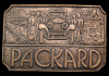 KD04139 VINTAGE 1970s ***PACKARD*** MOTOR CAR CO. BELT BUCKLE
