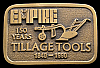 ID24138 *NOS* VINTAGE 1990 **McKAY EMPIRE** TILLAGE TOOLS BUCKLE