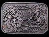 GREAT VINTAGE 1977 BIG COUNTRY/PILLSBURY PEWTER BUCKLE