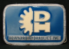 HD18113 VINTAGE 1980s ***DOWNARD HYDRAULICS INC*** PEWTER BUCKLE