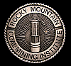 JJ06177 VINTAGE ***ROCKY MOUNTAIN MINING INSTITUTE*** LANTERN BUCKLE