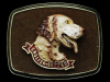REALLY NICE NOS VINTAGE 1979 ENGLISH-SETTER BELT BUCKLE