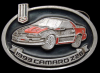 KD28160 AMAZING VINTAGE 1993 ***CHEVY CAMARO Z28*** CHEVROLET CAR PEWTER BUCKLE