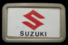 JJ06109 GREAT VINTAGE 1970s ***SUZUKI*** MOTORCYCLES BELT BUCKLE