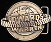 HJ03106 VINTAGE 1970s **EDWARDS WARREN TIRE CO.** BELT BUCKLE