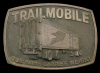 KD02105 VINTAGE 1970s ***TRAILMOBILE*** BIG TRUCK TRAILERS BELT BUCKLE