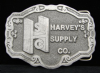 HH04113 VINTAGE 1986 **HARVEY'S SUPPLY CO.** TRUCK PARTS BUCKLE
