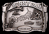 IG08151 GREAT 1984 ***BONNY DAM*** COLORADO HUNTING FISHING BUCKLE