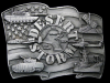 IC27113 VERY COOL 1991 **OPERATION DESERT STORM** PEWTER BUCKLE