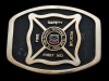 KE31115 GREAT 1994 ***EL PASO EMERGENCY RESPONSE TEAM*** SOLID BRASS BUCKLE