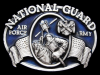 GREAT VINTAGE 1982 NATIONAL GUARD AIR FORCE ARMY BUCKLE