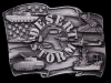 HL15141 VINTAGE 1991 ***OPERATION DESERT STORM*** PEWTER BUCKLE