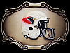 NOS VINTAGE 1978 *ST. LOUIS CARDINALS* FOOTBALL BUCKLE
