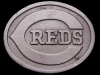COOL VINTAGE 1970s CINCINATTI REDS BASEBALL BELT BUCKLE