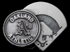 KC31151 VINTAGE 1994 **OAKLAND ATHLETICS** MLB BASEBALL PEWTER BELT BUCKLE