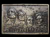 KF13111 VINTAGE 1975 ***MOUNT RUSHMORE 1776-1976*** BELT BUCKLE