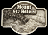 AWESOME 1980 BUCKLE **MT. ST. HELENS VOLCANO** ERUPTION