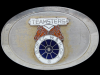 JK19166 VERY COOL VINTAGE 1970s ***TEAMSTERS UNION*** BELT BUCKLE
