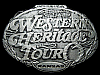 KH17172 GREAT *NOS* WESTERN HERITAGE TOUR WICHITA KANSAS BELT BUCKLE