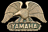KJ04120 AWESOME VINTAGE 1980 **YAMAHA** MOTORCYCLES EAGLE SOLID BRASS BUCKLE