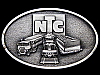 KJ09102 VINTAGE 1978 **NTC** TRANSPORTATION (TRUCK, TRAIN, & CONTAINER) BUCKLE