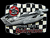 COOL NOS 1992 NOTHING BEATS A BUDWEISER (SPEEDBOAT) BEER BUCKLE