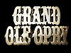 KK23150 VINTAGE 1979 CUT-OUT ***GRAND OLE OPRY*** SOLID BRASS BELT BUCKLE