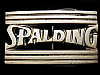KK27150 VINTAGE 1978 ***SPALDING SPORTING GOODS*** SOLID BRASS BELT BUCKLE