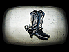 KL05167 GREAT VINTAGE 1970s ***WESTERN STYLE COWBOY BOOTS*** BELT BUCKLE