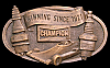 KL10115 AWESOMEVINTAGE 1978 ***CHAMPION SPARK PLUGS*** RACE CAR RACING BUCKLE