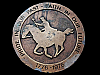 KL09145 VINTAGE 1976 *PRIDE IN OUR PAST - FAITH IN OUR FUTURE* 1776-1976 BUCKLE