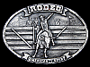 KL11158 VINTAGE 1977 ***RODEO - AMERICA'S #1 SPORT*** COMMEMORATIVE BELT BUCKLE