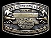 KL13102 VINTAGE 1983 PRODUCTION CREDIT UNION LENDING STRENGTH 1933-1983 BUCKLE
