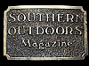 KL15101 VINTAGE 1982 ***SOUTHERN OUTDOORS MAGAZINE*** BELT BUCKLE