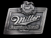 LA19161 VINTAGE 1993 ***MILLER GENUINE DRAFT*** COLD FILTERED BEER BELT BUCKLE
