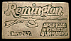 LB02126 VINTAGE 1970s **REMINGTON** AMERICA'S FINEST GUN BUCKLE