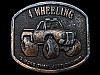 LB07135 COOL VINTAGE 1976 4 WHEELING IS MORE THAN JUST DRIVING BELT BUCKLE