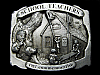 VINTAGE 1987 *SCHOOL TEACHERS* COMMEMORATIVE BELT BUCKLE
