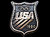 LB15153 COOL VINTAGE ***1980 USA OLYMPICS*** SOUVENIR BADGE BELT BUCKLE