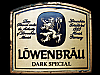 LB21139 VINTAGE 1978 ***LOWENBRAU DARK SPECIAL BEER*** SOLID BRASS BUCKLE