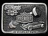 LB27149 VINTAGE 1985 ***PREMIER 25 YEARS AT INDY*** RACING BELT BUCKLE