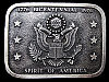 LB29140 GREAT VINTAGE 1976 ***US BICENTENNIAL*** SPIRIT OF AMERICA BELT BUCKLE