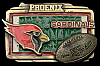LC04167 *NOS* VINTAGE ***PHOENIX CARDINALS*** OFFICIAL NFL FOOTBALL BELT BUCKLE