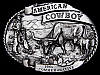 VINTAGE 1985 *AMERICAN COWBOY COMMEMORATIVE* BELT BUCKLE