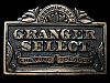 LC11110 VINTAGE 1988 ***GRANGER SELECT CHEWING TOBACCO*** BELT BUCKLE