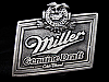 LC11128 1993 ***MILLER GENUINE DRAFT*** COLD FILTERED BEER BELT BUCKLE