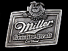 LC11129 REALLY NICE 1993 **MILLER GENUINE DRAFT** COLD FILTERED BEER BELT BUCKLE